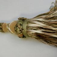 Ribbon Tassel Celery Accent Trim Home Decor