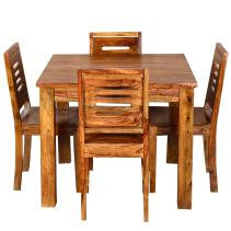 Ringabell Square Four Seater Solid Wood Dining Table