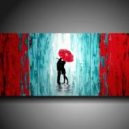 Romantic Design Style Paintings Ideas Plain