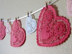 Romantic Doily Decor Design Dazzle