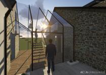 Rose Cottage Malpas Two Storey Extension Architecture