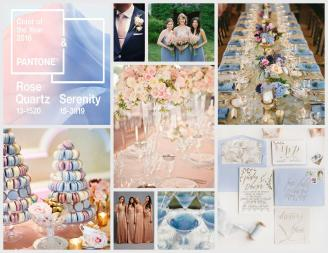 Rose Quartz Serenity Wedding Insiraption