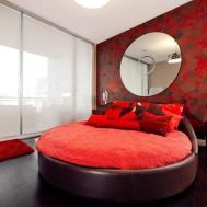 Round Bed Home Design Decor