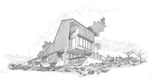 Round Mountain House Demx Architecture