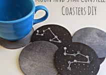Running Glue Gun Moon Star Constellation