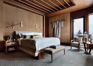 Rustic Bedroom Studio Sofield Architectural Digest
