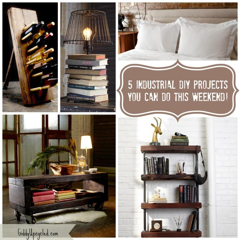 Rustic Diy Industrial Furniture Projects Can
