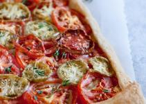 Rustic Heirloom Tomato Tart Recipe Well Vegan