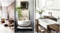 Rustic Natural Bathroom Inspiration Ideas