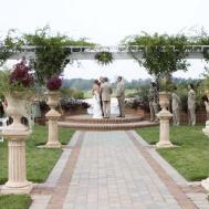 Rustic Outdoor Wedding Altar