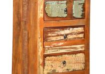 Rustic Reclaimed Wood Mini Chest Drawers Dresser