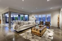 Rustic Wood Coffee Table Sofa Living Room Modern Home