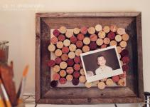 Sassafras Wine Cork Art Board Diy Wall Decor