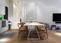 Scandinavian Design Modern Apartment Stermalm Stockholm