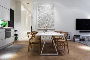 Scandinavian Design Modern Apartment Stermalm Stockholm