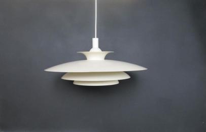 Scandinavian Hanging Light White Design Pendant