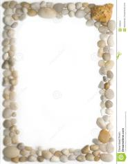 Sea Pebbles Frame Stock