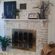Seam Stone Fireplace Veneer Wisconsin Prairie