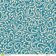 Seamless Floral Pattern Uniform Stock Vector