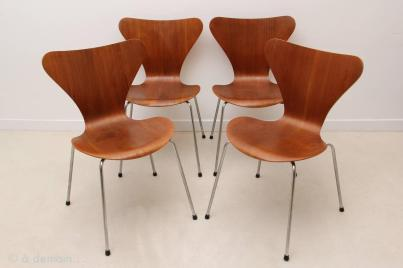 Series Chairs Designed Arne Jacobsen Edited