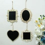 Set Pcs Vintage Wedding Blackboard Mini Chalkboard