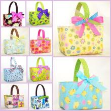 Sew Gracious Blog Fabric Easter Baskets Back