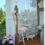 Shabby Chic Tiny Retreat Porch Makeover