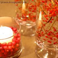 Shades Green Handmade Holidays Easy Centerpiece