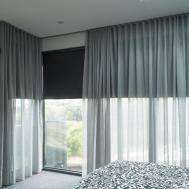 Sheer Voile Curtains Ripplefold Heading Blackout