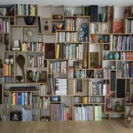 Shelf Bookcase Espresso Diy Easy Bookshelf