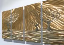 Shiny Trees Metal Arts Decosee