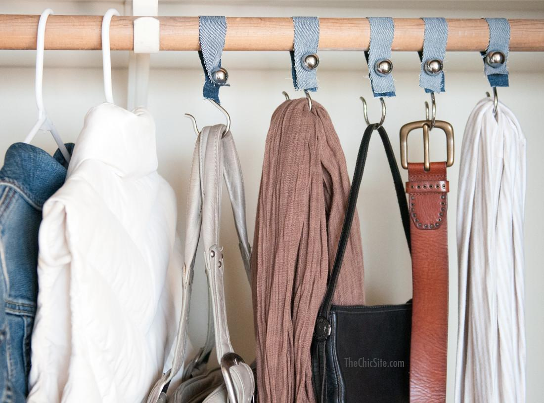 Attractive Diy Shower Hook Closet Organizers That Will Fit Every
