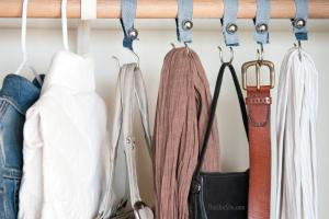 Shower Hook Closet Organizers Chic