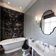 Silver Bathroom Vanity White Bathrooms Black