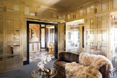 Silver Gold Decor Ideas Metallic Home Design Photos