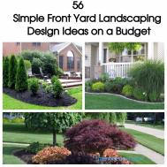 Simple Backyard Landscaping Ideas Budget