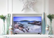 Simple Beachy Summer Mantel Decor Happy Housie