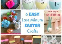 Simple Last Minute Easter Crafts