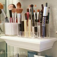 Simple Makeup Organizer Ideas