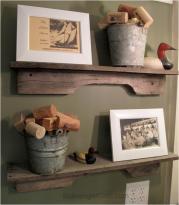 Simplistic Wood Shelf Projects Design Modern