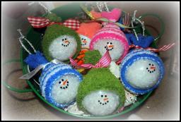 Simply Cute Creations Snowmen Ornaments