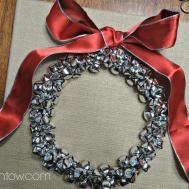 Simply Homemade Bells Burlap Wreath Kristen Anne Glover