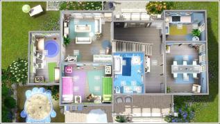 Sims Family Home Floor Plans