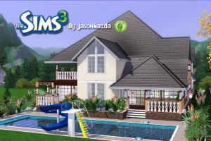 Sims House Designs Prestigious Elegance