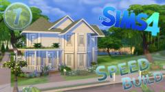 Sims Speed Build Modern Victorian House Part