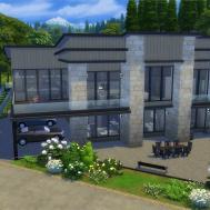 Sims Spotlight Modern Family Homes