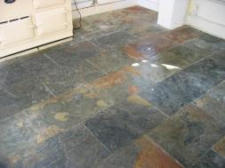 Slate Tiled Floors Cleaning Southampton