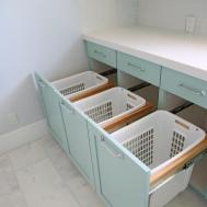 Small Laundry Room Storage Tips