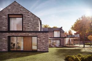 Small Modern House Model