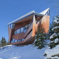 Snow Country Retreat Overlooking Whistler Valley Canada